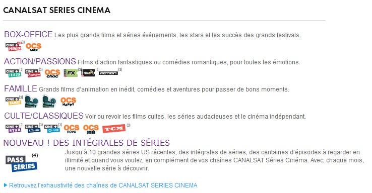Offre Cinema